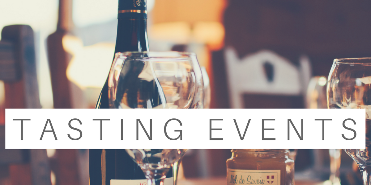Events and tastings